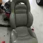 Corvette Seat Cover Before